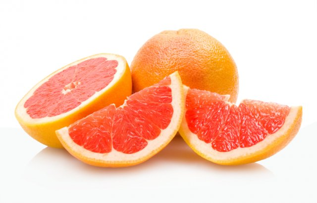 Grapefruit  The Aroma Of A Freshly Sliced Ruby Red Grapefruit.