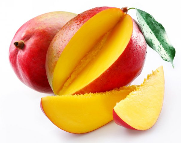 Sliced Mango   Captures The Sweet Juicy Nectar Of This Tropical Fruit.
