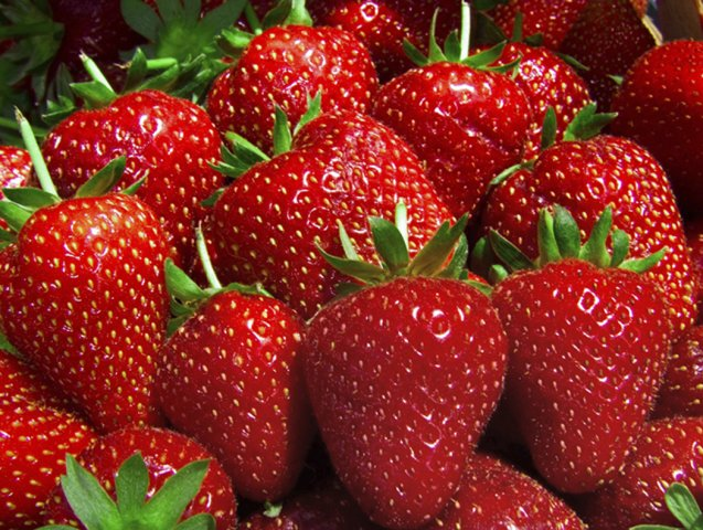 Strawberry   Delightfully Pleasant And Tempting.